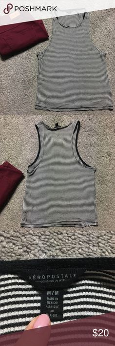 Cute Striped Aeropostale Crop Top New without tags, adorable, comfortable, and stretchy! Size medium. Smoke-free home. Aeropostale Tops Crop Tops