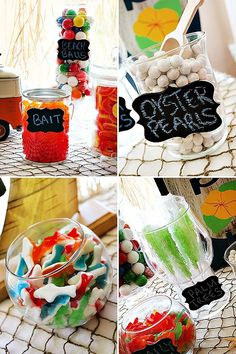 Cheers to Summer - pool party candy