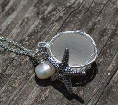 Beautiful hand made sea glass jewelery   Creative Art by ME on Etsy.com
