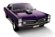 Muscle Cars Purple GTO