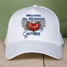 Personalized Walking In Memory Of ALS Hat