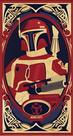 """""""Posters: Boba Fett"""" by Mike Mann"""