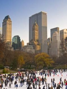Central Park, Wollman Icerink, Manhattan, New York City, USA Photographic Print by Alan Copson at Art.com