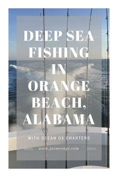 Deep Sea Fishing in Orange Beach, Alabama. You don't need to be afraid of deep sea fishing.