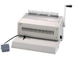 Tamerica 240EPB Electric Punch Comb Binding Machine