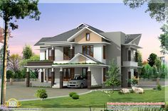 ft ultra modern house elevation kerala home design floor plans architecture modern architecture house exterior designs