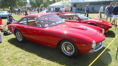 A 250 GT Lusso, representing the last of the long and varied history of Ferrari's 250 line The Car Show