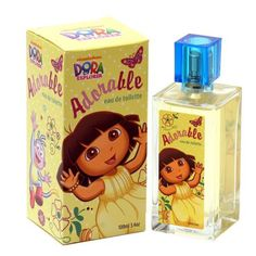 I'm learning all about Dora Adorable Girls Dora The Explorer Adorable Eau De Toilette Spray 3.3 Oz at @Influenster!