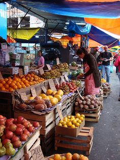 market, Asunción, Paraguay, visited during the adoption of my youngest son