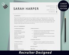Student Resume Template, Simple Resume Template, Cv Template, Resume Templates, Cv Skills, Resume Skills, Marketing Resume, Sales Resume, Resume Words
