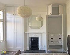Fitted Wardrobes and Bookcases in London. Alcove Shelving, Built-in Cupboards and Victorian Style Wardrobes at Art Carpentry Central London Alcove Wardrobe, Bedroom Alcove, Bedroom Built In Wardrobe, Wardrobe Drawers, Closet Bedroom, Bedroom Storage, Wardrobe Closet, Bedroom Ideas, Master Bedroom
