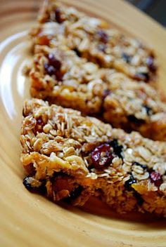 Ina Garten's Granola Bars (supposed to be a more adult-friendly version than the Chewy Granola Bars)