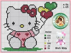 CHARMS IN CROSS POINT: Hello Kitty
