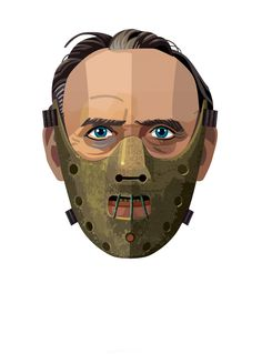 Hannibal Lector Horror - Awesome Illustration Series by Robert M Ball | Inspihive