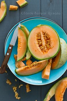 Melon from Renata Torok-Bognar's Flickr Photostreram #cantaloupe