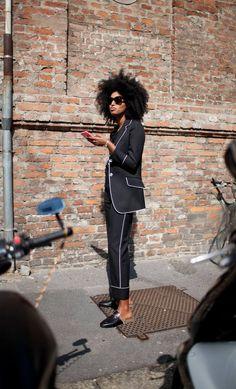 Street style at Milan Fashion Week: