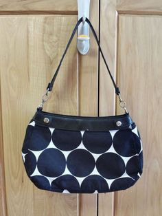 Thirty-One Black Suite Purse with Two Purse Skirt for SALE at a GREAT price!