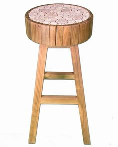 "<ul><li>SKU:TF-0964-30</li><li>Teak wood is blended with eucalyptus branch inlays.<li>Bar height stool ideal for extra seating.<li>Intended for indoor use.<li>Variations will occur due to materials used.<li>Designed in the USA.<li>Please allow up to 2 weeks for shipping.<B><li>Free Standard Shipping!</B><li>Dimensions: 13.7"" L x 13.7"" W x 29.9"" H.</ul> $289.99"