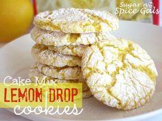 Spice Gals: Lemon Drop Cookies