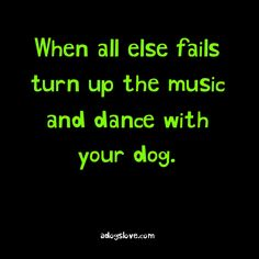 I love doing this and my dogs love it to