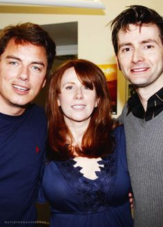 David Tennant, John Barrowman, Catherine Tate...miss them and DW as it was then so much.