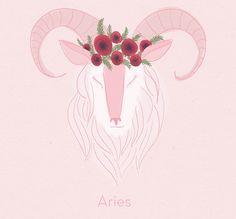 Aries, sure of herself