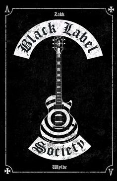 Black Label Society poster les paul by on DeviantArt Rock Band Posters, Rock Band Logos, Rock Bands, Metal Band Logos, Pride And Glory, Rock Y Metal, Heavy Metal Art, Black Metal, Black Label Society