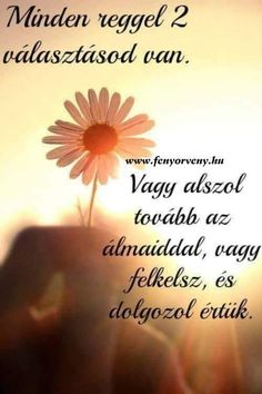 Every morning you have two choices- Minden reggel két választásod van Every morning you have two choices – Swirl of Light - Meant To Be Quotes, Bff Quotes, Love Quotes, Motivational Quotes, Inspirational Quotes, Good Sentences, Biker Quotes, Quotes About Everything, Text Pictures