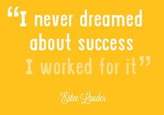 #Work your way to #success.