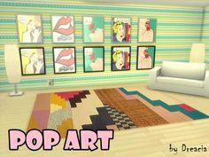 Pop Art Paintings by Dreacia