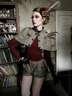 158 Best Steampunk Clothing Outfits Women Images