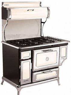 Heartland 720000GIVY 48 Inch Freestanding Gas Range with 6 Sealed Burners, 3.6 cu. ft. Manual Clean Oven, 16,500 BTU Bake/Broil Burner, Storage Compartment, Concealed Electronic Control Panel and 350 CFM Exhaust System: Ivory, Natural Gas