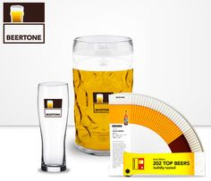 Brasileiro lança a Beertone, a escala de cores das cervejas
