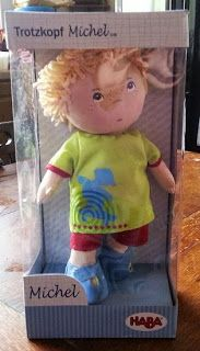 The Brick Castle: Michael ~ a Little Boy Doll from HABA