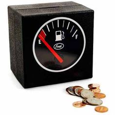 Car lovers gift…Filler Up Coin Bank
