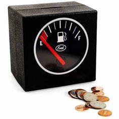 Car lovers gift…Filler Up Coin Bank