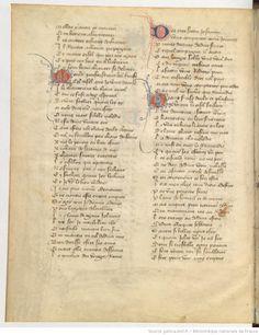 Titre : Roman de la Rose Date d'édition : 1401-1450 Type : manuscrit Français 1665 6v