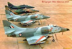 A4 Skyhawks Navy Aircraft, Aircraft Photos, Military Jets, Military Aircraft, War Jet, Douglas Aircraft, Royal Australian Navy, Star Trek Ships, Aeroplanes
