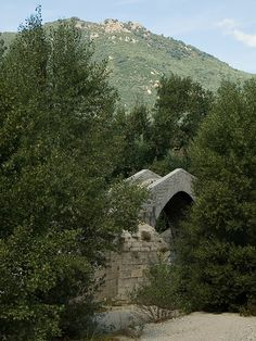 Pont Spin'a Cavallu XIIIe-XVe s. (Corse-du-sud, France)