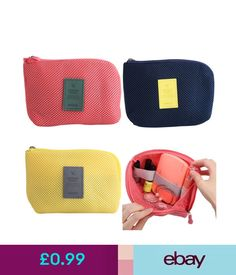 Make-Up Cases   Bags Cosmetic Makeup Bag Mini Portable Travel Storage Bag  Passport Organizer Pouch e64fbd195ab58