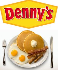 Denny& Pancake Recipe These are the best pancakes I have ever made! Restaurant Deals, Restaurant Recipes, Denny's Pancake Recipe, What's For Breakfast, Breakfast Recipes, Birthday Breakfast, Breakfast Dishes, Scones, Pancakes And Waffles