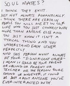 .. soulmates ..