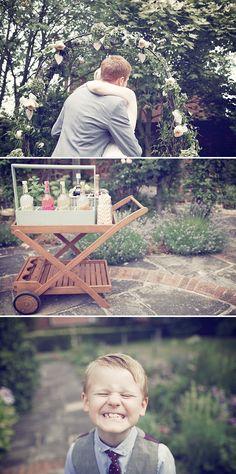 An english country backgarden humanist wedding with Biba dress tipi reception 0010 An English Country Backgarden