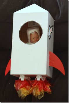 Several great crafts for space travel.