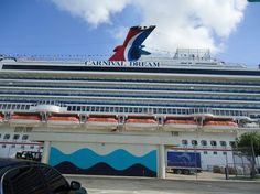 Carnival Dream. Eastern Caribbean cruise.