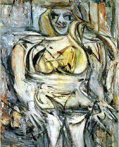 Mulher III, de Willem de Kooning Mulher 3 faz parte de uma coleção de seis obras pintadas por Kooning entre 1951 e 1953. Esta pintura do expressionismo abstracto foi concluída já em 1953.