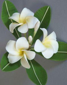 Polymer flower (simple)