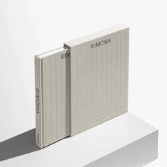 RIMOWA by Assouline is an exploration into the depths of an icon whose history spans more than a… Ad Design, Book Design, Layout Design, Branding Design, Book Binding Design, Japan Design, Portfolio Book, Portfolio Design, Portfolio Layout
