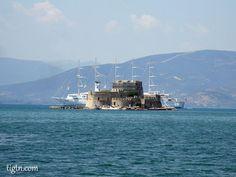 #Bourtzi Fortress, #Nafplio, #Greece Opera House, Greece, Building, Nature, Travel, Places, Greece Country, Naturaleza, Viajes