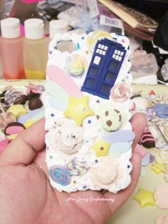 SALE Doctor Who TARDIS Deco Phone Case by NDConfectionery on Etsy, $30.00